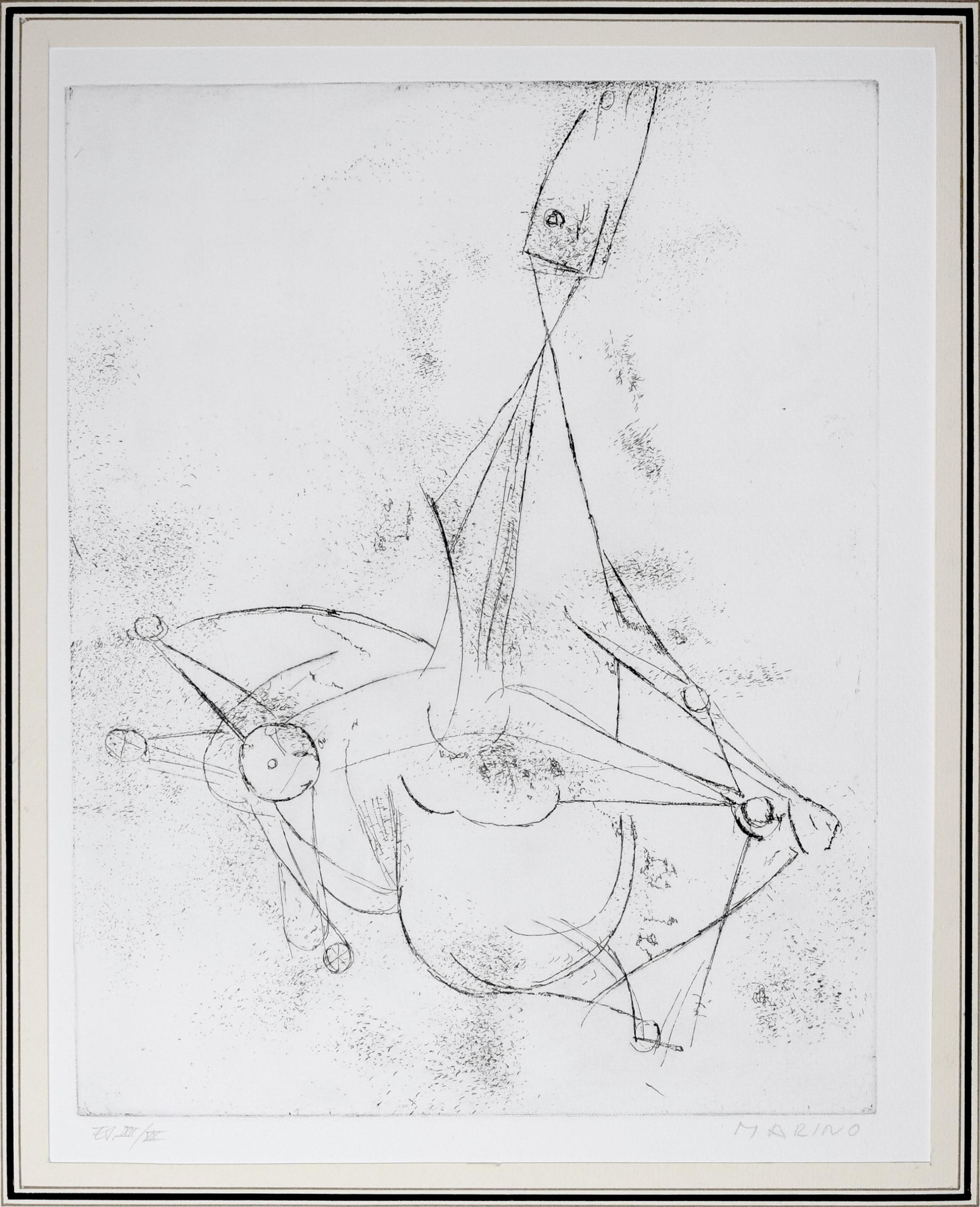Miracolo (Miracle) - Original Etching - 1969