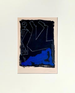 """""""Morning"""", By Marino Marini, limited edition etching on paper"""