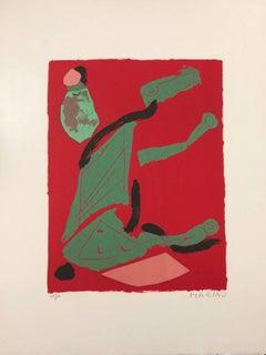 Thahe - Original Lithograph by Marino Marini - 1970