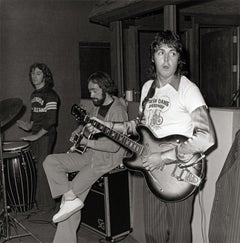 Paul McCartney, Dave Mason, Denny Laine, Allen Toussaint Studio, New Orleans, LA