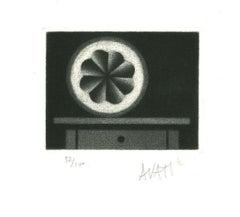 Lemon - Original Etching on Paper by Mario Avati - 1970s