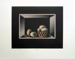 Still Life with Eggs - Original handsigned etching - Limited / 150
