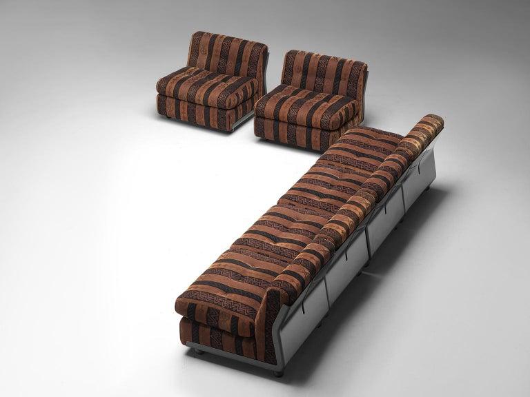 Mario Bellini 'Amanta' Modular Sofa in Original Fabric, 1966 For Sale 1