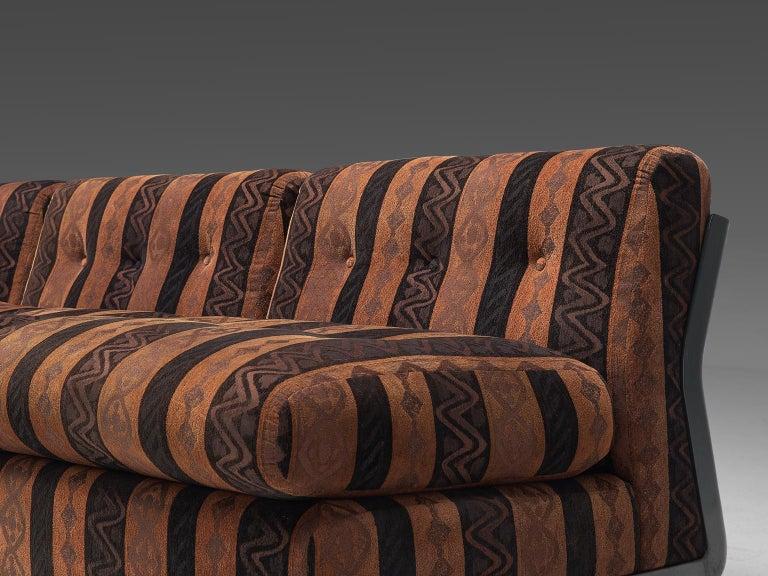 Mario Bellini 'Amanta' Modular Sofa in Original Fabric, 1966 For Sale 2
