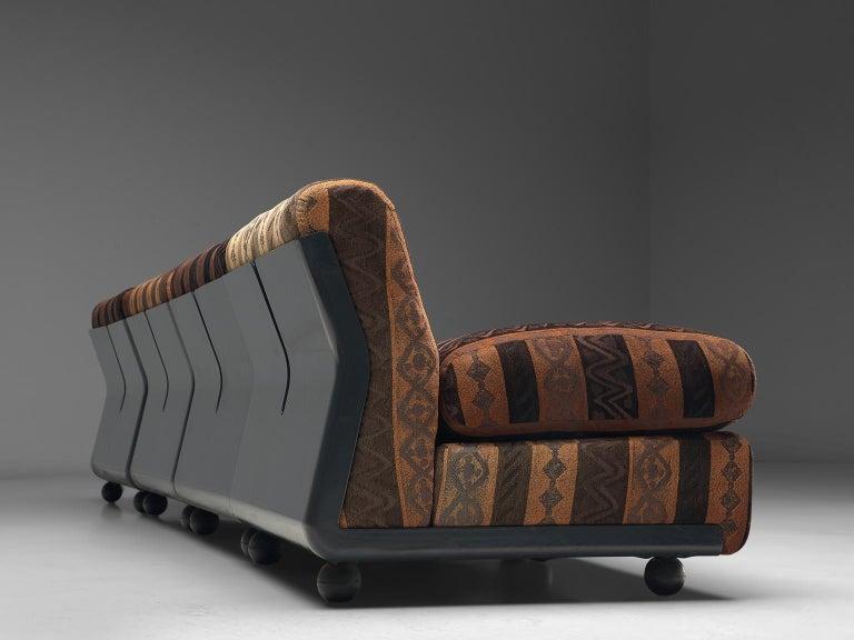 Mario Bellini 'Amanta' Modular Sofa in Original Fabric, 1966 For Sale 3