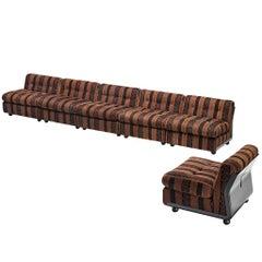 Mario Bellini 'Amanta' Modular Sofa in Original Fabric