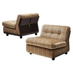 Mario Bellini 'Amanta' Pair of Lounge Chairs in Fiberlite