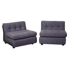 Mario Bellini 'Amanta' Sectional Lounges for B&B Italia, Italy 1960s, Signed