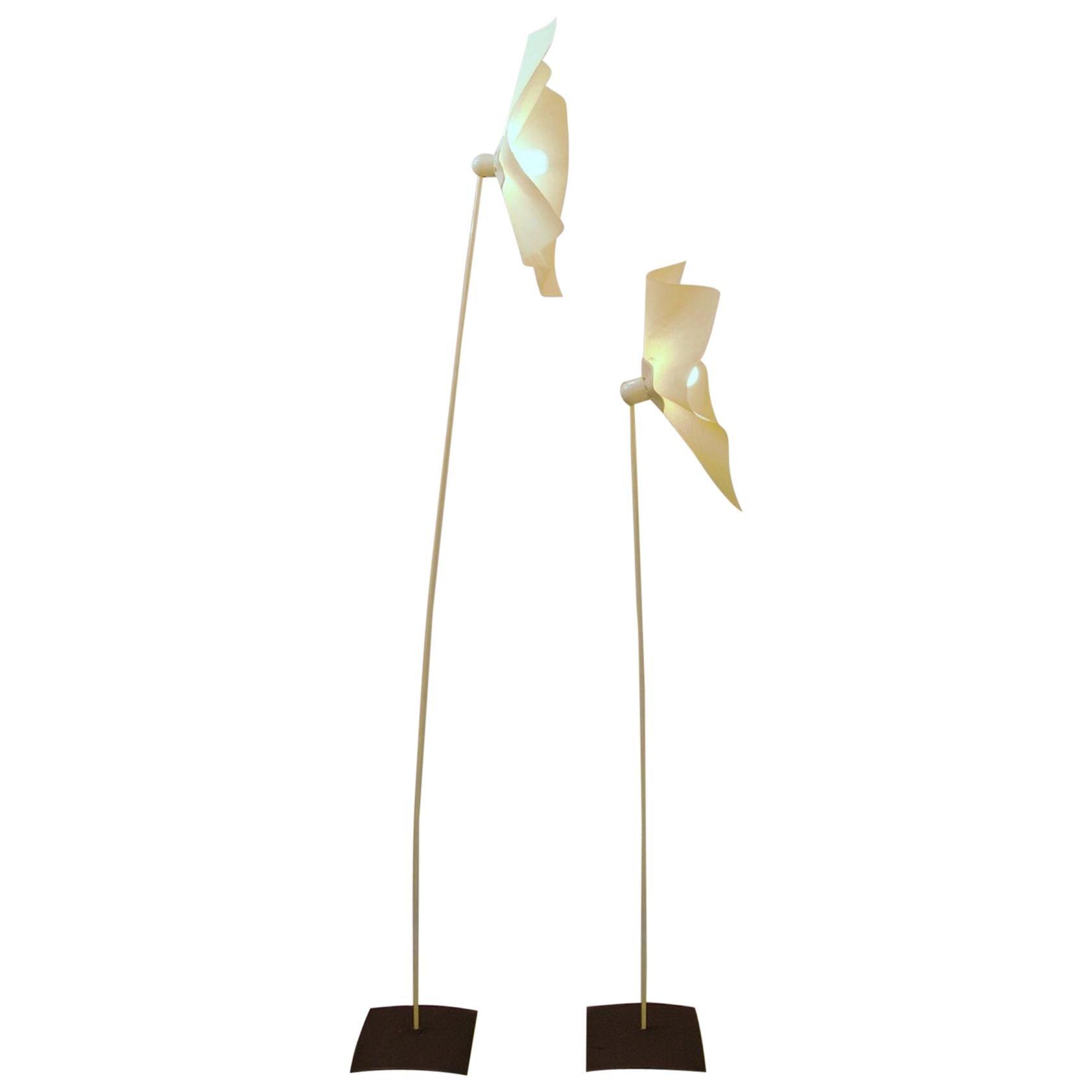 """Mario Bellini and Giorgio Origlia """"Area"""" Floor Lamps 160/210"""
