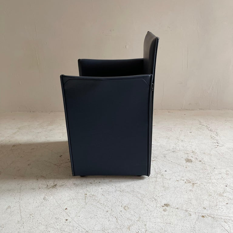 Mario Bellini Breaker Armchair by Cassina 1970s, Set of 9 For Sale 6