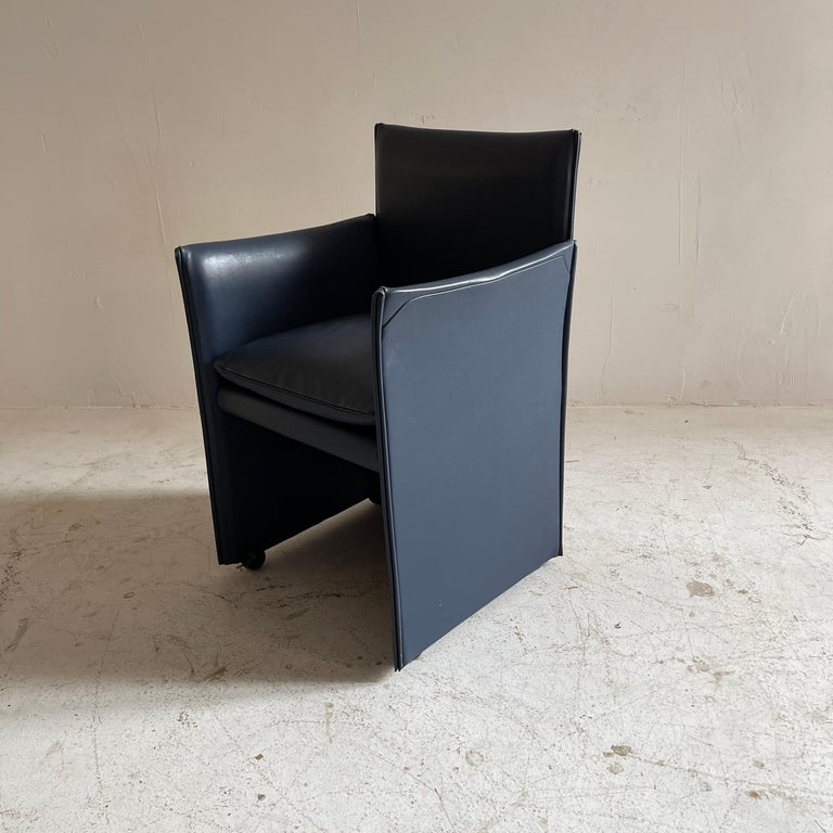 Mario Bellini Breaker Armchair by Cassina 1970s, Set of 9 For Sale 7