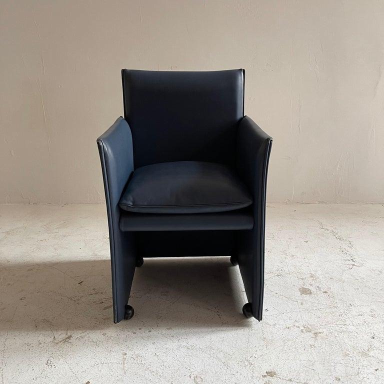 Metal Mario Bellini Breaker Armchair by Cassina 1970s, Set of 9 For Sale