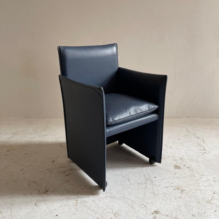 Mario Bellini Breaker Armchair by Cassina 1970s, Set of 9 For Sale 1