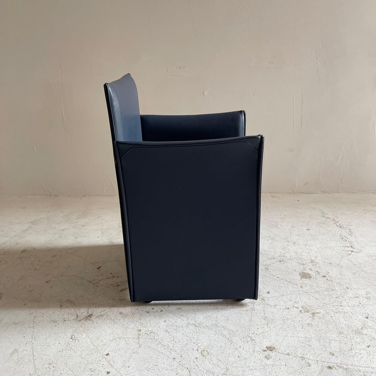Mario Bellini Breaker Armchair by Cassina 1970s, Set of 9 For Sale 2