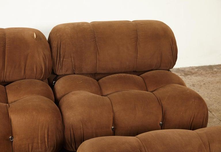 Mario Bellini 'Camaleonda' Modular Sofa, B&B Italia, 1970s, for Reupholstery In Good Condition In London, GB