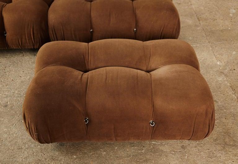 Late 20th Century Mario Bellini 'Camaleonda' Modular Sofa, B&B Italia, 1970s, for Reupholstery