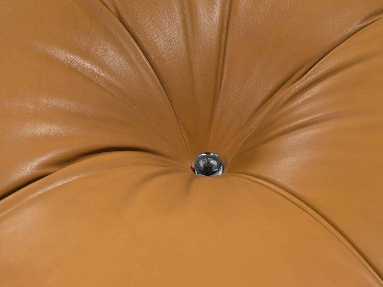 Mario Bellini 'Camaleonda' Modular Sofa in Original Cognac Leather 1