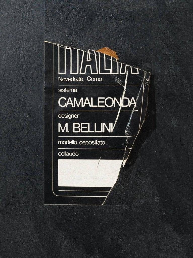 Mario Bellini 'Camaleonda' Modular Sofa in Original Cognac Leather 3