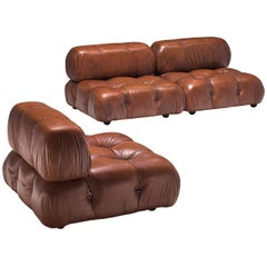 Mario Bellini 'Camaleonda' Modular Sofa in Original Leather