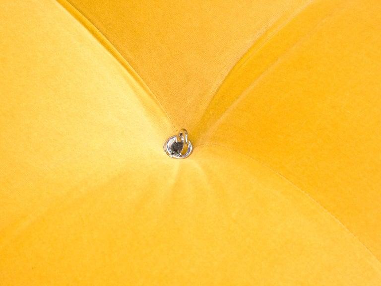 Mario Bellini Camaleonda Modular Sofa Reupholstered in Sunflower Yellow Velvet For Sale 2