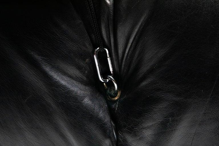 Mario Bellini Camaleonda Original Piece in Black Leather, Three Available For Sale 6