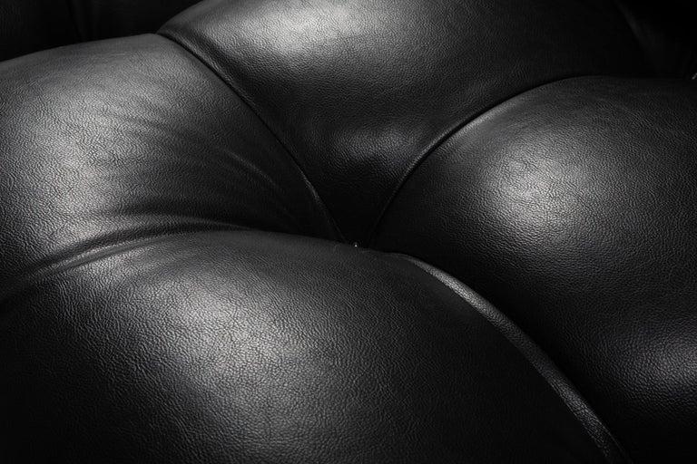 Mario Bellini Camaleonda Original Piece in Black Leather, Three Available For Sale 13