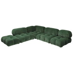 Mario Bellini Camaleonda Sectional Sofa in Pierre Frey Mohair