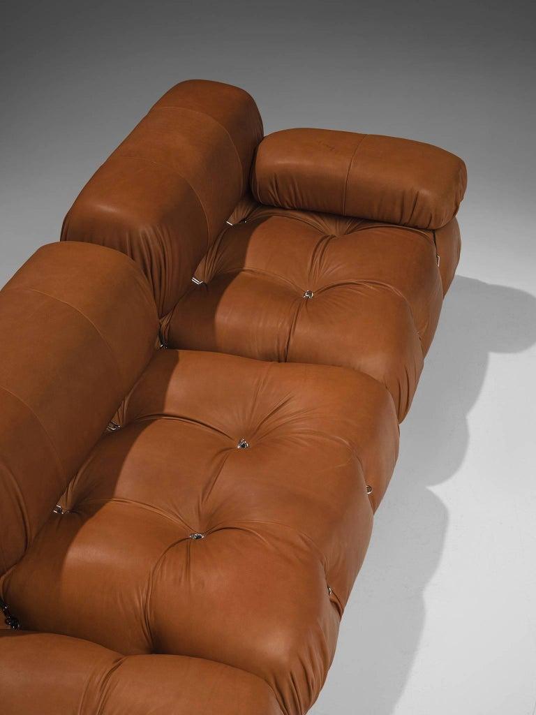 Mario Bellini Customizable 'Camaleonda' Modular Leather Sofa For Sale 1