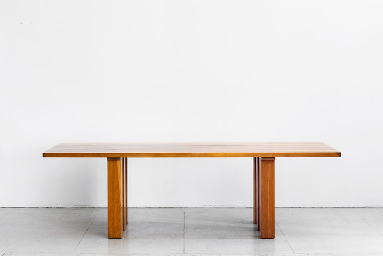 Mario Bellini Dining Table In Good Condition For Sale In Los Angeles, CA