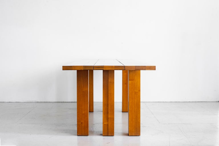 Late 20th Century Mario Bellini Dining Table For Sale
