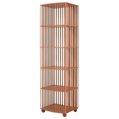 Mario Bellini Étagère Wooden Bookcase for Bottega Ghianda