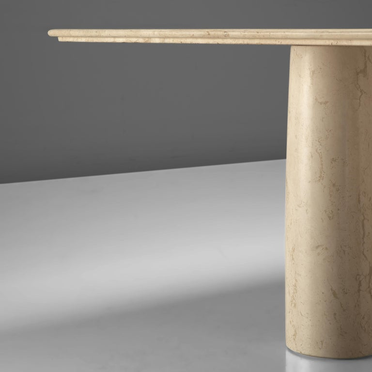 Late 20th Century Mario Bellini for Cassina 'Il Collonato' Marble Table For Sale