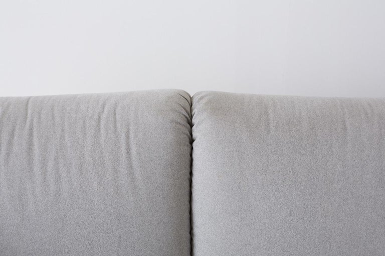 Hand-Crafted Mario Bellini for Cassina Tentazione Upholstered Sofa For Sale