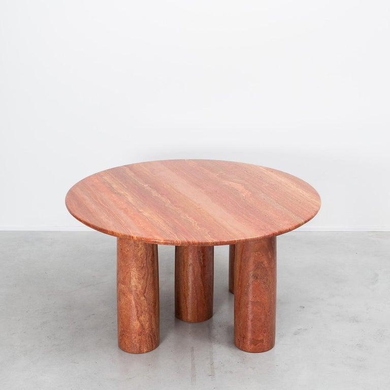 Mid-Century Modern Mario Bellini Il Collonato Marble Table For Sale