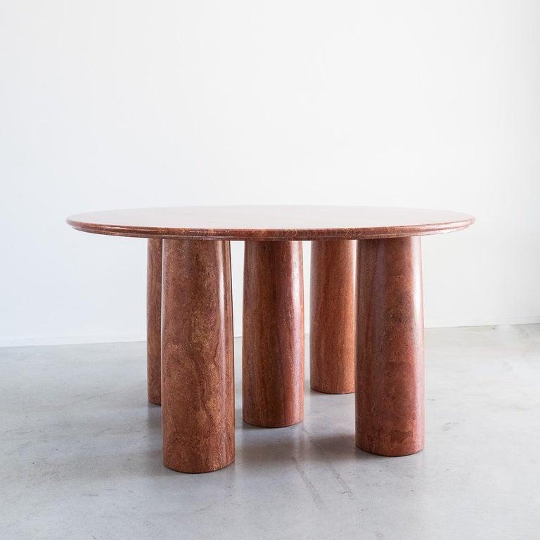 Mario Bellini Il Collonato Marble Table For Sale 1