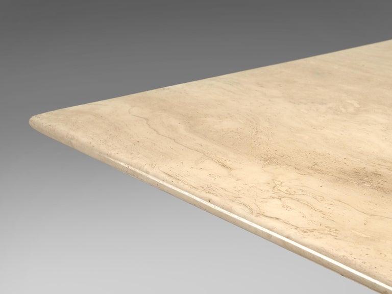 1970s Mario Bellini 'Il Collonato' White Marble Table for Cassina For Sale