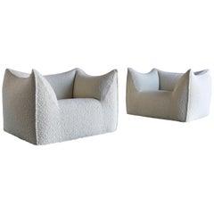 "Mario Bellini ""Le Bambole"" Lounge Chairs for B&B Italia, circa 1985"