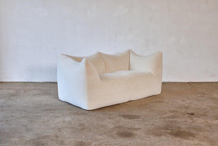 Mario Bellini Le Bambole Sofa, Upholstered in Alpaca, B&B Italia, 1970s For Sale 4
