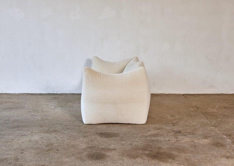 Italian Mario Bellini Le Bambole Sofa, Upholstered in Alpaca, B&B Italia, 1970s For Sale