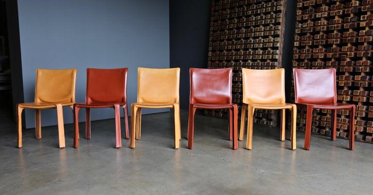 Modern Mario Bellini Leather