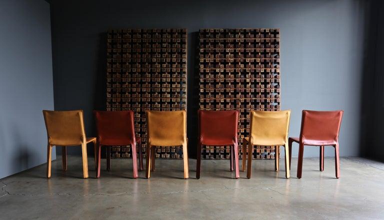 Italian Mario Bellini Leather