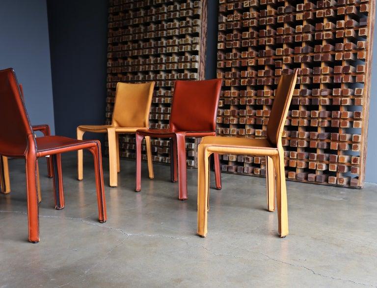 20th Century Mario Bellini Leather