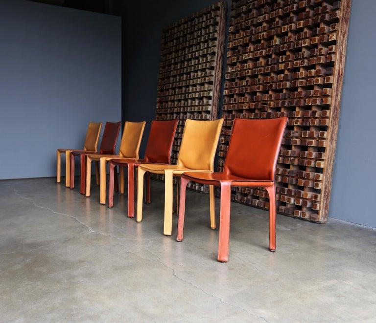 Steel Mario Bellini Leather