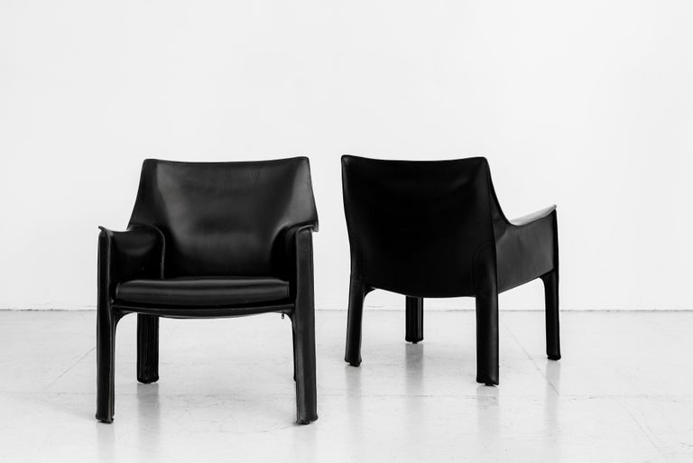 Mario Bellini Lounge Chairs For Sale 4