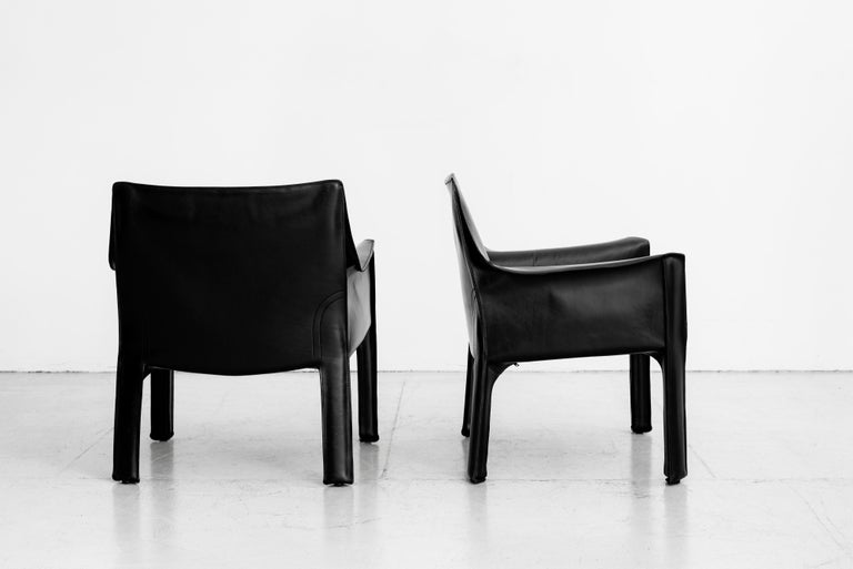Mario Bellini Lounge Chairs For Sale 5