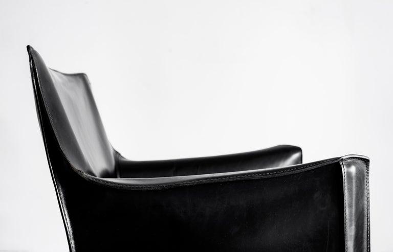 Italian Mario Bellini Lounge Chairs For Sale