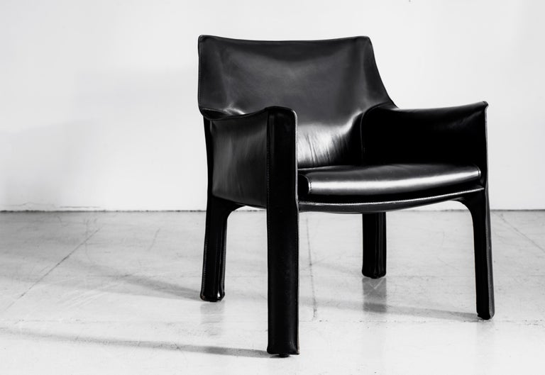 Mario Bellini Lounge Chairs In Good Condition For Sale In Los Angeles, CA