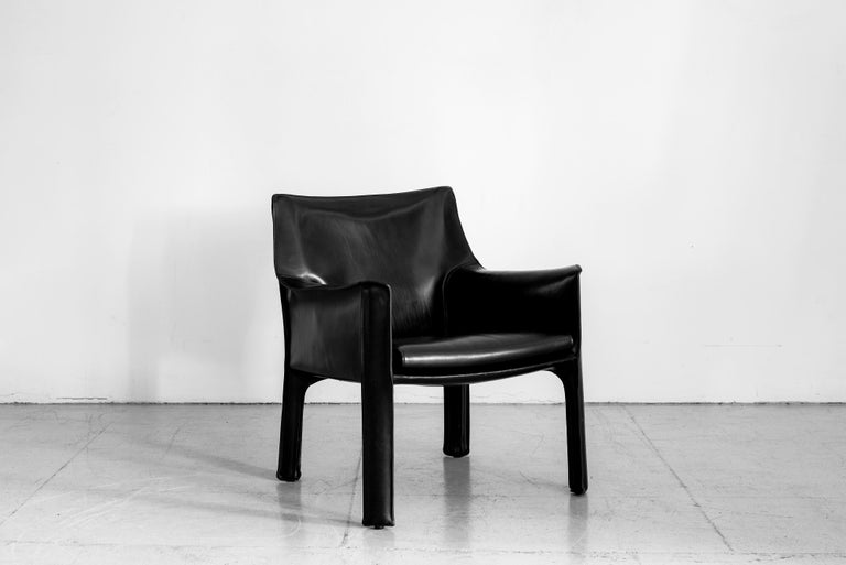 Mid-20th Century Mario Bellini Lounge Chairs For Sale