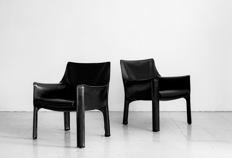 Mario Bellini Lounge Chairs For Sale 2