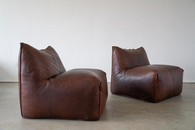 Leather Mario Bellini Modular Sofa For Sale